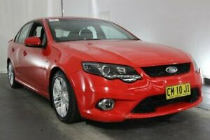 2008 Ford Falcon FG XR6 Red 5 Speed Sports Automatic Sedan Maryville Newcastle Area Preview