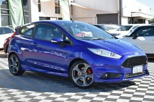 2017 Ford Fiesta WZ ST Blue 6 Speed Manual Hatchback Attadale Melville Area Preview