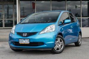 2009 Honda Jazz GE MY09 GLi Blue 5 Speed Manual Hatchback Dandenong Greater Dandenong Preview