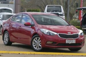 2014 Kia Cerato YD MY14 SLi Red 6 Speed Sports Automatic Sedan East Toowoomba Toowoomba City Preview