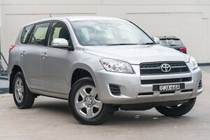 2012 Toyota RAV4 ACA38R MY12 CV 4x2 Silver Pearl 4 Speed Automatic Wagon Brookvale Manly Area Preview
