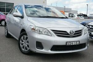 2011 Toyota Corolla ZRE152R MY11 Ascent Silver 4 Speed Automatic Sedan Phillip Woden Valley Preview