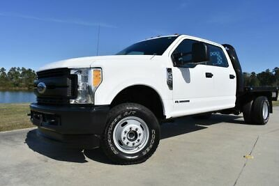 2017 Ford F-350 XL 2017 Ford Super Duty F-350 DRW Chassis Cab XL 64716 Miles White Pickup Truck 8 A