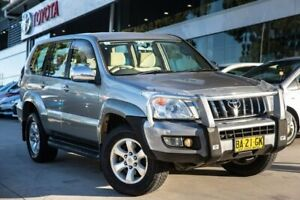 2004 Toyota Landcruiser Prado KZJ120R GXL Gold 4 Speed Automatic Wagon Castle Hill The Hills District Preview