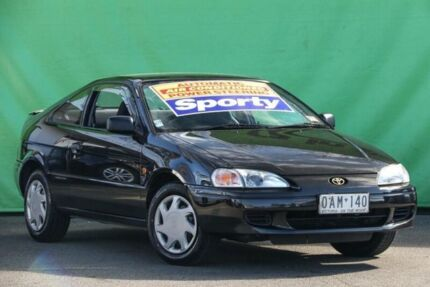 1996 Toyota Paseo EL54R Black 4 Speed Automatic Coupe Ringwood East Maroondah Area Preview