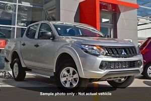 2016 Mitsubishi Triton MQ MY16 GLX+ Double Cab Sterling Silver 5 Speed Sports Automatic Utility Mount Gravatt Brisbane South East Preview