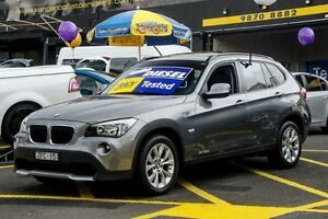 2012 BMW X1 E84 MY0312 sDrive20d Steptronic Black 6 Speed Sports Automatic Wagon Ringwood East Maroondah Area Preview