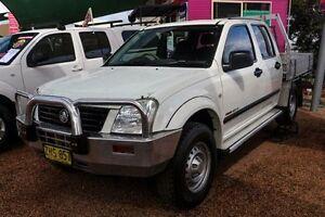 2004 Holden Rodeo RA LX Crew Cab White 5 Speed Manual Utility Minchinbury Blacktown Area Preview