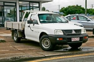 2005 Mitsubishi Triton MK GL White Manual Wynnum Brisbane South East Preview