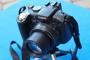 Canon digital camera - Powershot Pro Series S5 Is 8.0Mp 12 x Opt