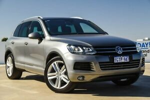 2014 Volkswagen Touareg 7P MY15 V6 TDI Tiptronic 4MOTION Grey 8 Speed Sports Automatic Wagon Osborne Park Stirling Area Preview