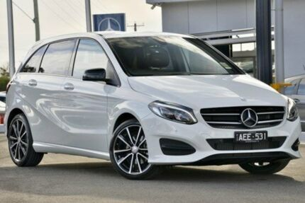 2015 Mercedes-Benz B180  Cirrus White Sports Automatic Dual Clutch Hatchback Mornington Mornington Peninsula Preview