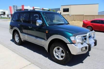 2002 Mitsubishi Pajero SUV Wangara Wanneroo Area Preview
