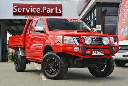 2012 Toyota Hilux KUN26R MY12 SR5 Xtra Cab Red 5 Speed Manual Utility