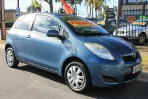 2010 Toyota Yaris NCP90R 10 Upgrade YR Blue 5 Speed Manual Hatchback Klemzig Port Adelaide Area Preview