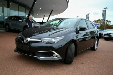 2018 Toyota Corolla ZRE182R Ascent Sport S-CVT Black 7 Speed Constant Variable Hatchback Wangara Wanneroo Area Preview