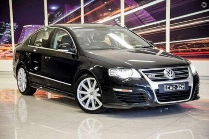 2009 Volkswagen Passat Type 3C MY09 R36 DSG 4MOTION Black 6 Speed Sports Automatic Dual Clutch Sedan