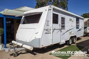 2007 Jayco Sterling, Island Bed & Full Rear Bathroom - CU956 Penrith Penrith Area Preview
