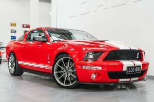 2006 Ford Mustang GT500 SHELBY Red 6 Speed Manual Coupe Port Melbourne Port Phillip Preview