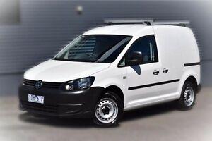 2014 Volkswagen Caddy 2KN MY15 TDI250 SWB DSG White 7 Speed Sports Automatic Dual Clutch Van Berwick Casey Area Preview