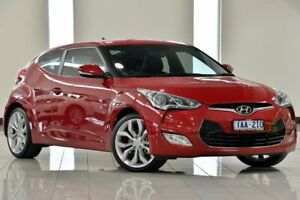 2013 Hyundai Veloster FS2 Coupe D-CT Red 6 Speed Sports Automatic Dual Clutch Hatchback Narre Warren Casey Area Preview