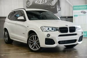 2015 BMW X3 F25 LCI xDrive20d Steptronic White 8 Speed Automatic Wagon Albion Brisbane North East Preview