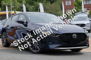 2019 Mazda 3 BP G25 GT Deep Crystal Blue 6 Speed Automatic Hatchback Kirrawee Sutherland Area Preview