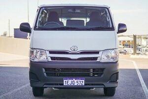 2013 Toyota Hiace TRH201R MY12 Upgrade LWB White 5 Speed Manual Van Wangara Wanneroo Area Preview