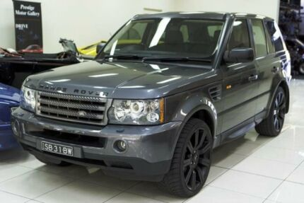 2006 Land Rover Range Rover Sport 2.7 TDV6 Charcoal Grey 6 Speed Sequential Auto Wagon Carss Park Kogarah Area Preview