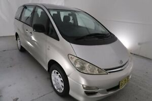 2005 Toyota Tarago ACR30R MY03 GLi Silver 4 Speed Automatic Wagon Hamilton North Newcastle Area Preview