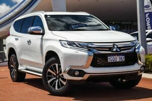 2017 Mitsubishi Pajero Sport QE MY17 Exceed White 8 Speed Sports Automatic Wagon