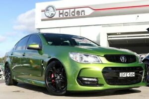 2016 Holden Commodore VF II MY16 SS V Redline Jungle Green 6 Speed Manual Sedan Liverpool Liverpool Area Preview