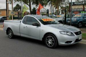 2008 Ford Falcon FG (LPG) Silver 4 Speed Auto Seq Sportshift Utility Klemzig Port Adelaide Area Preview