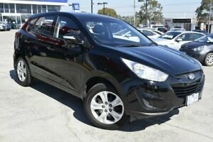 2010 Hyundai ix35 LM Active Black 6 Speed Sports Automatic Wagon