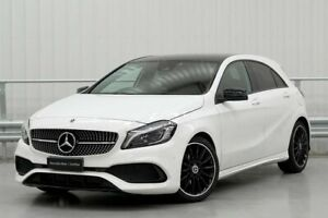 2018 Mercedes-Benz A-Class W176 A200 White Sports Automatic Dual Clutch Parramatta Parramatta Area Preview