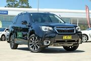 2017 Subaru Forester S4 MY17 XT CVT AWD Premium Crystal Black 8 Speed Constant Variable Wagon Baulkham Hills The Hills District Preview