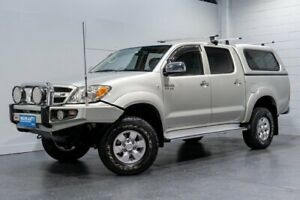 2006 Toyota Hilux GGN25R SR5 (4x4) Silver 5 Speed Manual Dual Cab Pick-up Woodridge Logan Area Preview