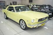 1965 Ford Mustang Yellow Automatic Coupe Carss Park Kogarah Area Preview