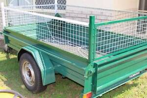 8x4  reg trailer with cage Rothwell Redcliffe Area Preview