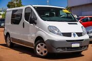 2014 Renault Trafic X83 Phase 3 Low Roof Quickshift White 6 Speed Seq Manual Auto-Clutch Van Willagee Melville Area Preview