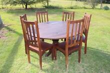 Round Bay Swiss Table and Chairs Arcadia Hornsby Area Preview