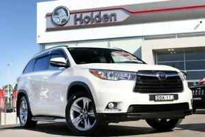 2016 Toyota Kluger GSU55R Grande AWD Pearl White 6 Speed Sports Automatic Wagon Liverpool Liverpool Area Preview