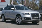 2009 Audi Q5 8R MY10 TFSI S tronic quattro Silver 7 Speed Sports Automatic Dual Clutch Wagon Phillip Woden Valley Preview