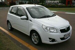 2011 Holden Barina TK MY11 White 4 Speed Automatic Hatchback Townsville Townsville City Preview