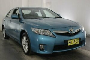 2009 Toyota Camry AHV40R MY10 Hybrid Blue 1 Speed Constant Variable Sedan Hybrid