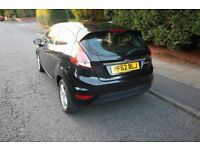 Black Ford Fiesta car for sale