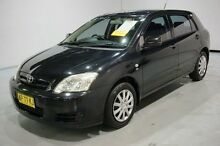2007 Toyota Corolla ZZE122R 5Y Ascent Black 5 Speed Manual Hatchback Old Guildford Fairfield Area Preview