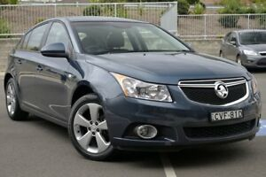 2014 Holden Cruze JH Series II MY14 Equipe Turquoise 5 Speed Manual Hatchback Lisarow Gosford Area Preview