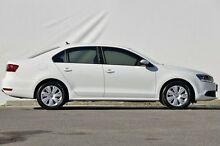 2012 Volkswagen Jetta 1B MY13 118TSI DSG White 7 Speed Sports Automatic Dual Clutch Sedan Ferntree Gully Knox Area Preview