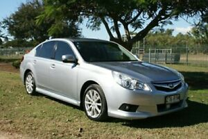 2011 Subaru Liberty B5 MY11 2.5i Lineartronic AWD Premium Silver 6 Speed Constant Variable Sedan Townsville Townsville City Preview